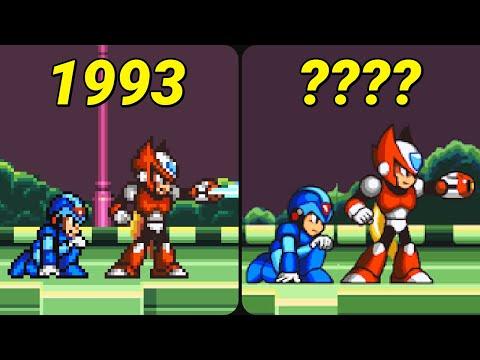 Evolution of Mega Man X Games 1993-2019