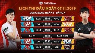 HTVC IGP GAMING khiến đại diện số 1 Đài Băc Trung Hoa suýt ôm hận - Bảng A - AIC 2019