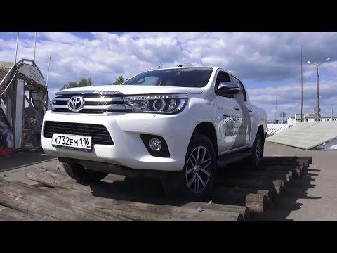2015 Toyota Hilux 2.8. Тест-Драйв.
