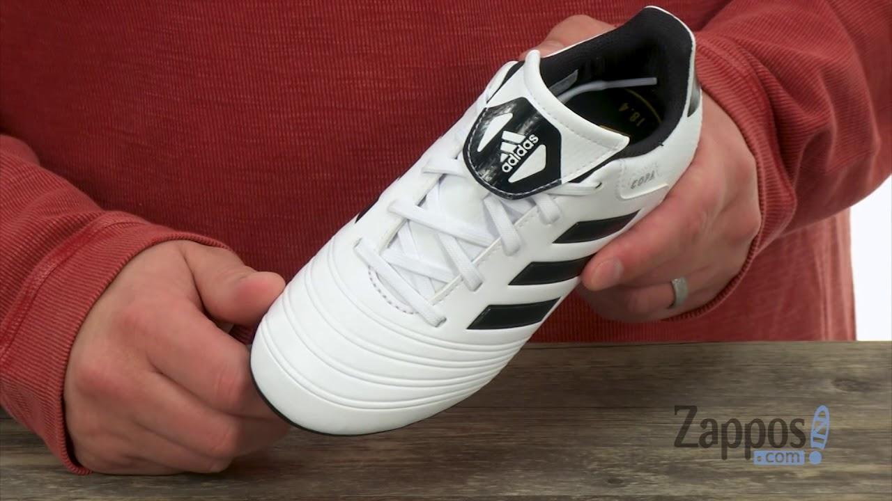 c90e60344fe adidas Kids Copa 18.4 FG (Little Kid Big Kid) SKU  8971469 - YouTube