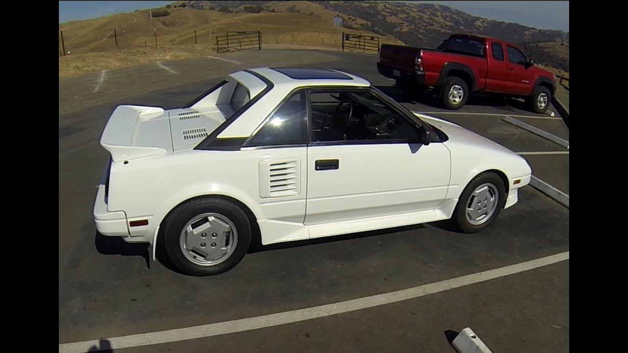 1987 Toyota Mr2 Aw11 - Pov Test Drive