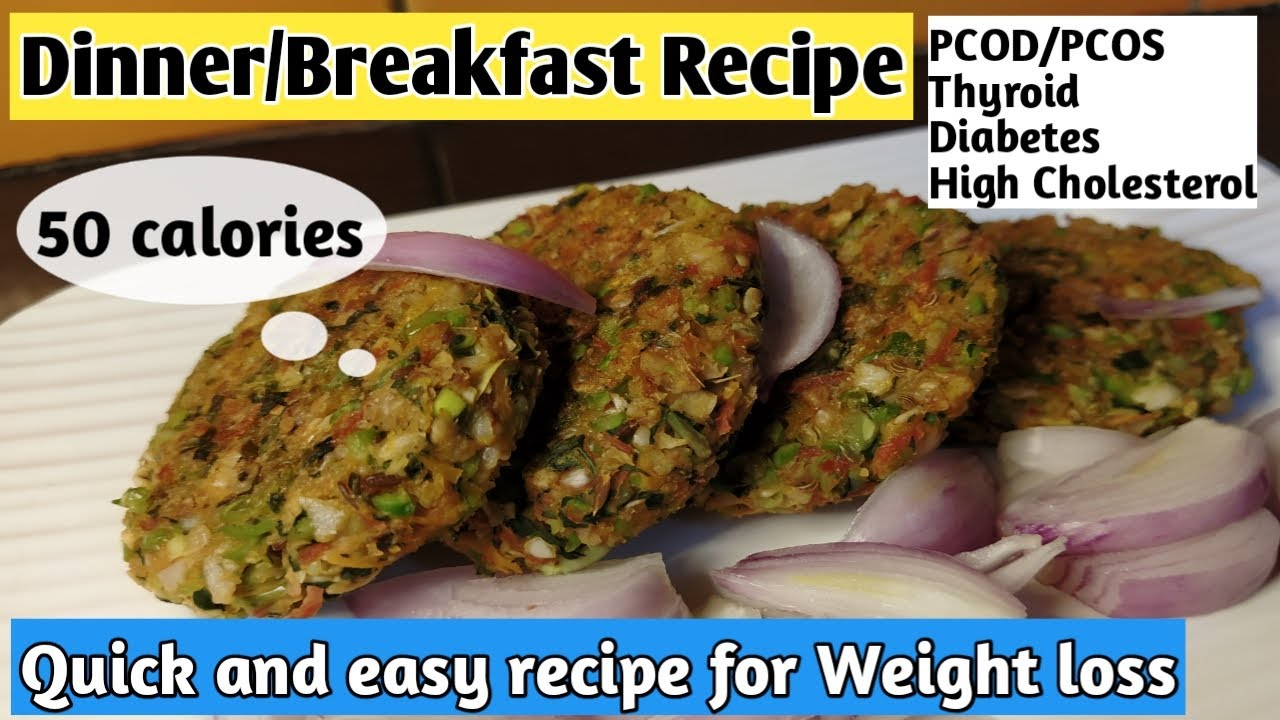 Quick and easy breakfast/Dinner recipe for weight loss | Diet recipe to lose weight | Healthy recipe
