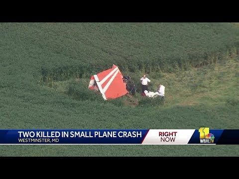 2 men die in Westminster plane crash