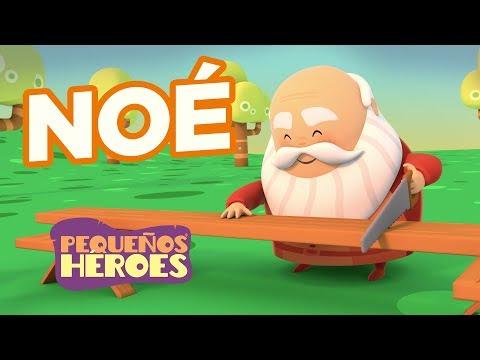 Historias De La Biblia Para Niños – Noé – Pequeños Héroes
