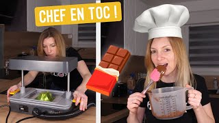 Comment NE PAS faire de sculptures en chocolat ? 😅