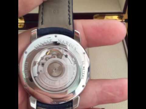 Ulysse Nardin Classico SS blue dial BP 8153-111-2 E3 - YouTube 953afead20e