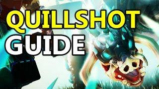 ♥ Dauntless - Soloing Quillshot Sword Guide / Tutorial / Tips & Tricks