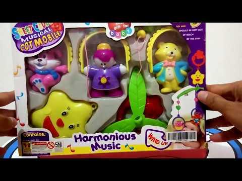Harmonious Musical Toys For Babies and kids - Mainan Musik Gantung untuk Bayi dan Anak