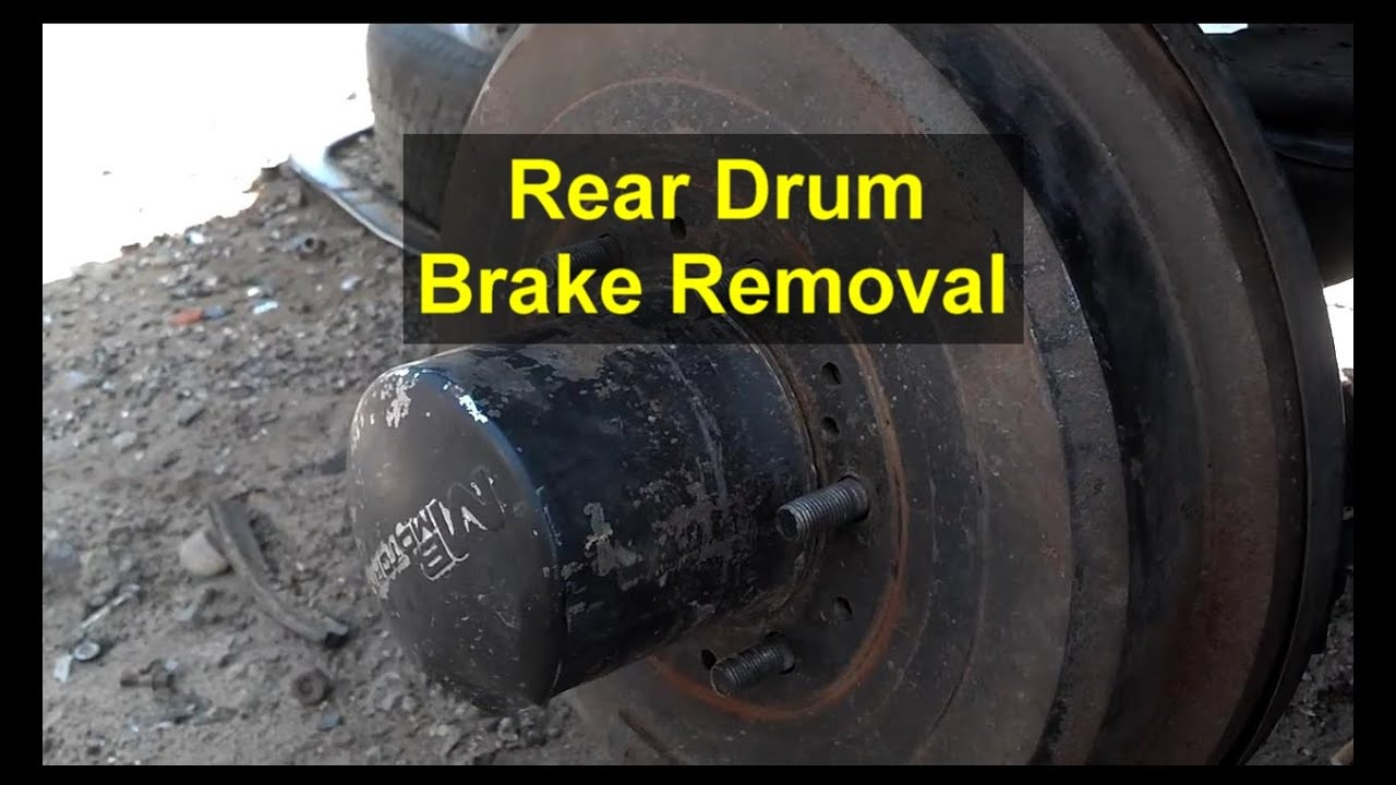 rear brake drum removal toyota 4 runner  [ 1280 x 720 Pixel ]