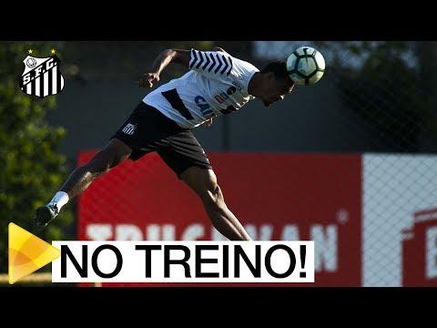 Físico, finalizações e alta intensidade | O início de semana do Santos FC