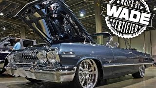 """Queen City Carshow : 1963 Chevy Impala on 20"""" Billet wheels"""