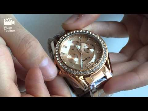 ffa92b18371d Ceas Fossil Riley ES2811 Review   Fossil Riley ES2811 - Unboxing - YouTube