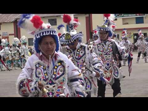 Negritos de Vicco Fam,Malpartida Mauricio despues de la visita al mayordomo Juan Valle