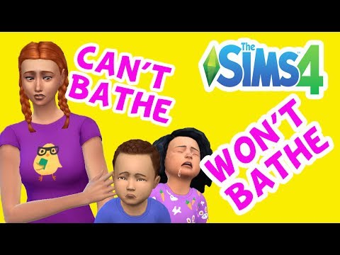 CAN'T BATHE WON'T BATHE! - Rosie's Daycare Ep1 - Sims 4 Toddlers