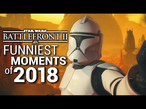 Star Wars Battlefront 2 FUNNIEST MOMENTS of 2018 (Part 2) thumbnail