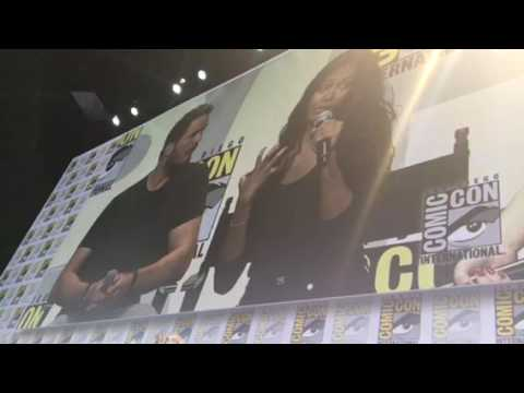 Zoe Saldana Says Guardians Of The Galaxy 2 Will Be 2x More Fun #SDCC