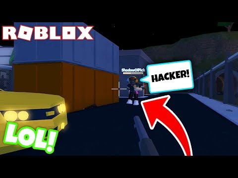HE CALLED HACKS ON ME! (Roblox Jailbreak)