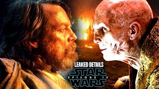Star Wars Episode 9 Snoke Warns Luke! Leaked Details & Potential Spoilers