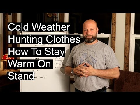 Cold Weather Hunting Clothes To Keep You Warm On Stand