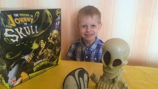 Джонни Скелет открываем игрушку johnny the skull