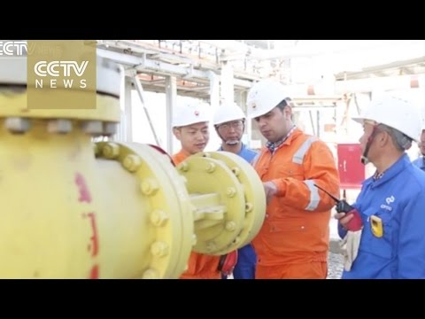 China National Petroleum Corporation pumping new oil in Iran
