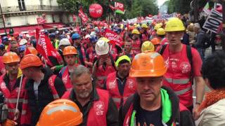 Manifestation du 14 Juin 2016  à Paris