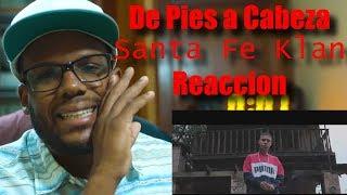 Santa Fe Klan - De Pies a Cabeza   Reacción   Felix Petroleo