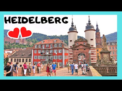 The historic city of HEIDELBERG, a walking tour (Germany)