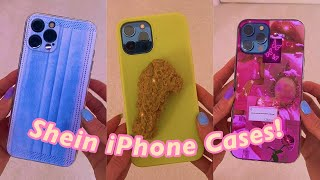 THE 6 BEST SHEIN IPHONE CASES!!💎*asmr unboxing!*✨😱 #Shorts