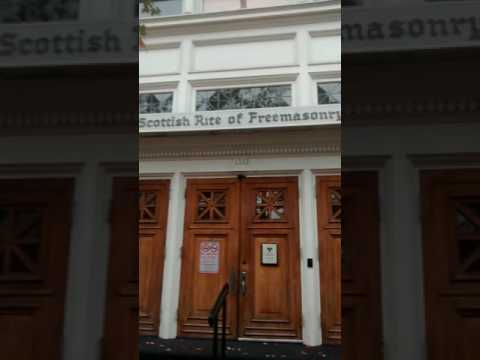 Scottish Freemason Temple. Part 1