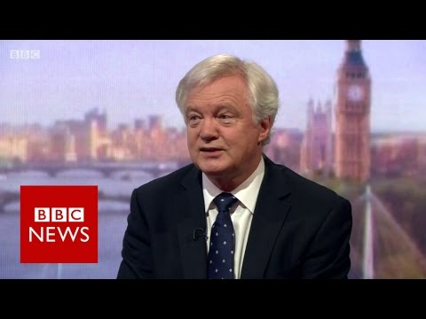 David Davis: Chilcot was 'trial' but 'verdict' on Tony Blair still needed - BBC News