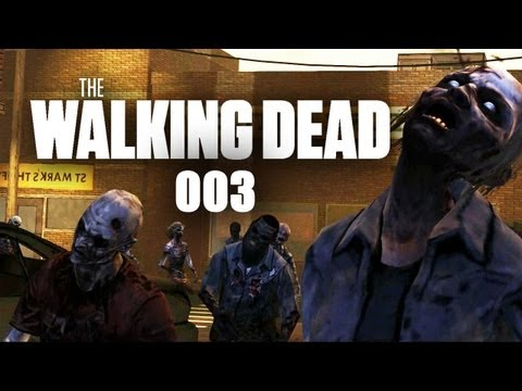 Let's Play The Walking Dead #003 - Ankunft in der Heimat [Full-HD] [Deutsch]