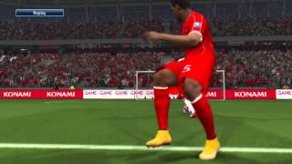 Pro Evolution Soccer 2015 LIVERPOOL vs LEEDS UNITED 2nd half