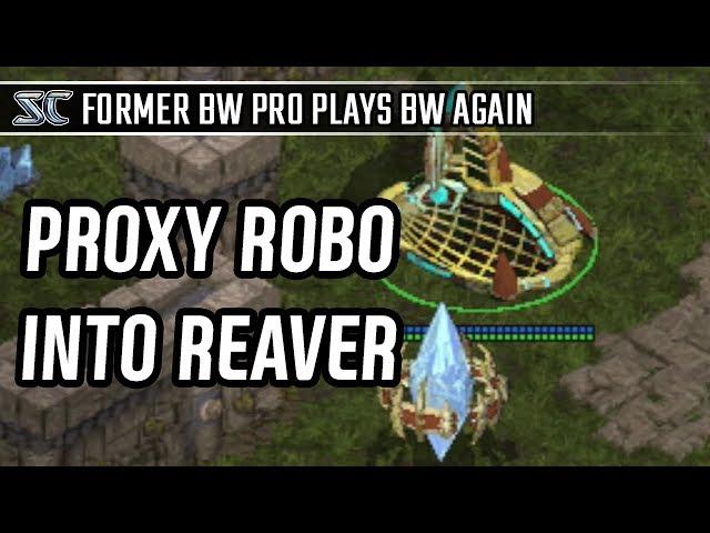 Proxy robo into Reaver in Protoss vs Terran l StarCraft: Brood War l Crank