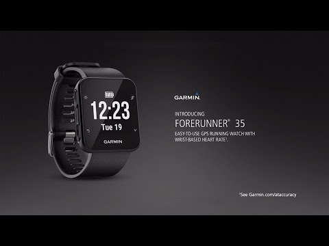 Video thumbnail for Garmin Forerunner 35 (Black)