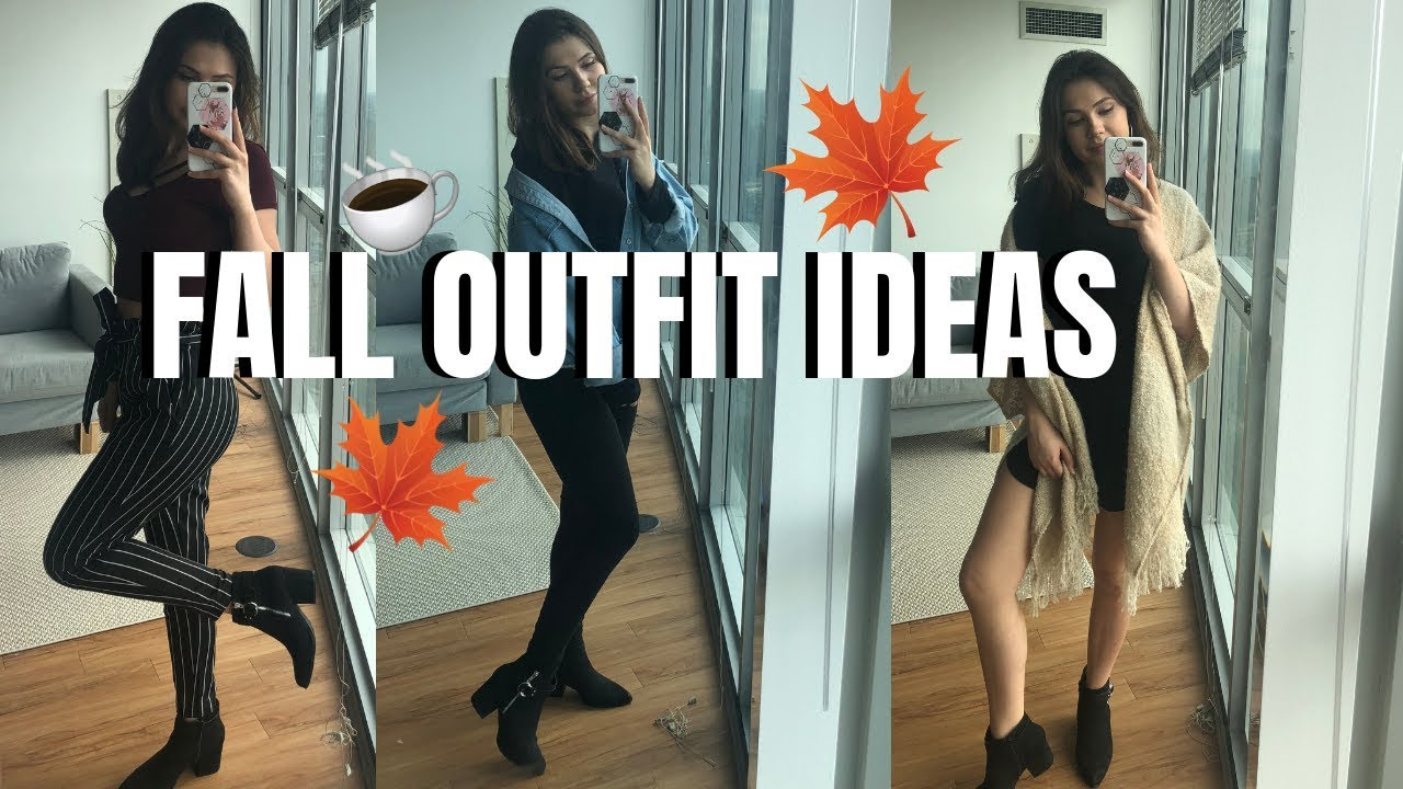 CUTE FALL OUTFIT IDEAS WITH BOOTIES 2018 2