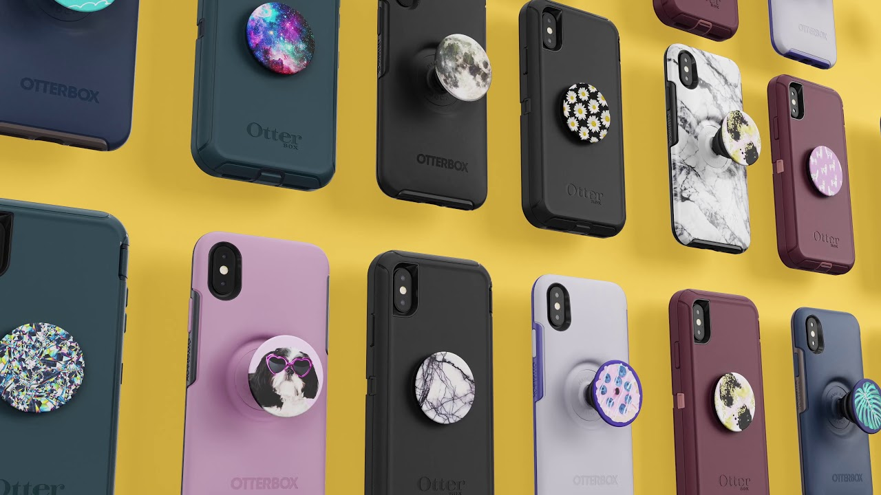 buy popular bdb12 1c4de The Otter + Pop Case Series from OtterBox and PopSockets