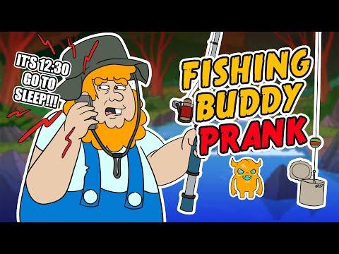 Fishing buddy prank youtube for Nd fishing buddy