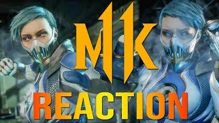 MORTAL KOMBAT 11 - Frost Reveal Trailer (Reaction)