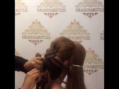 Asian bridal/party Hairstyle Tutorial for long