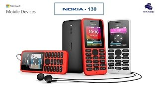 Nokia 130  Dual SIM (Microsoft Devices) Mobile Phone - 2014