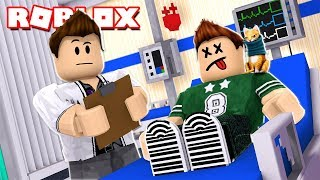 I'm sick in the hospital Roblox Roleplay in Spanish