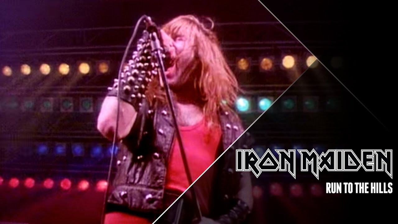 Iron Maiden Run To The Hills Official Video Youtube