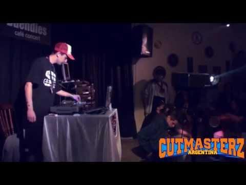 CUTMASTERZ FINAL 2013: 2da Ronda . Crez / Dj Pela / Ale Zuliani / Dj Morte / Ricky ZMB