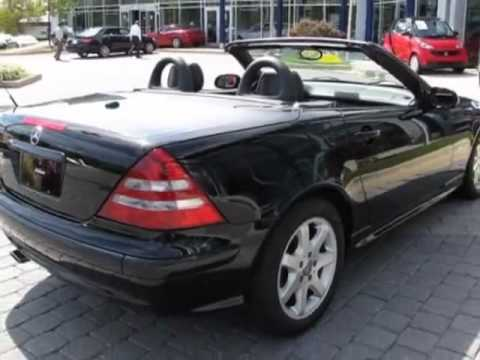 2003 mercedes benz slk class slk230 convertible for Mercedes benz of germantown md