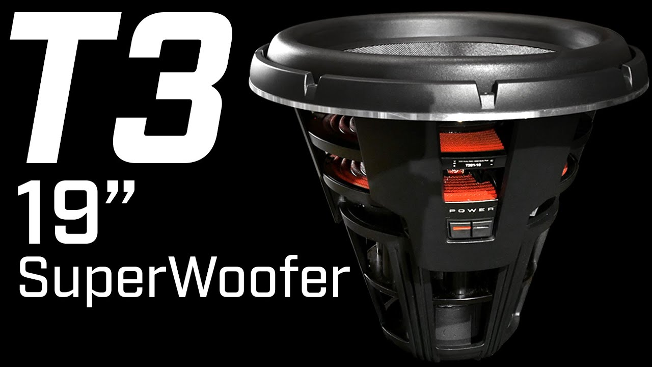 Rockford fosgate t3 superwoofer sneak peak 2016 youtube sciox Gallery