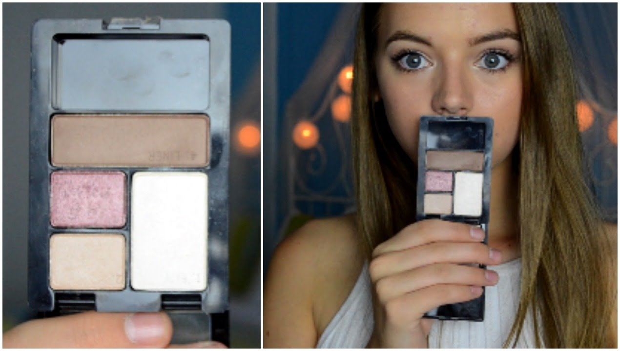 Maybelline Expert Wear Eyeshadow Quad Review ♡ - YouTube
