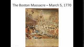 4 4 The Stamp Act to the Massacre