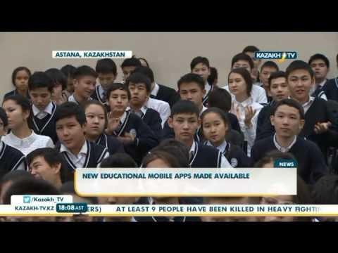 Отандық жаңа мобильді қосымшалардың тұсауы кесілді - KazakhTV