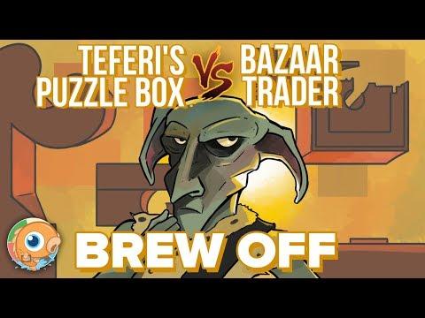 Brew Off: Teferi's Puzzle Box (PleasantKenobi) vs Bazaar Trader (SaffronOlive)